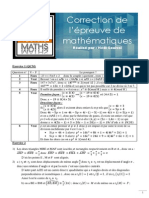 Bac Maths Session de Juin 2010 . s p