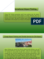 Denver International Airport Parking