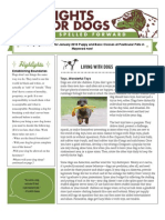 Winter 2009 Dog Spelled Forward Newsletter