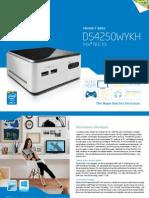 Nuc Kit d54250wyk Product Brief