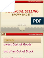 Financial Selling (CPG Retail Sales)