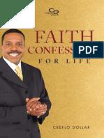 Faith Confessions Life Book