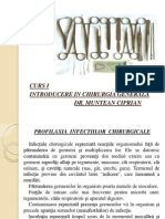 Curs I - Introducere in Chirurgia Generala