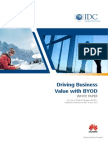 Driving Business Value With BYOD (IDC)