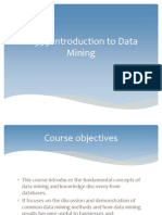 1 Data Mining Processes and Knowledge Discovery (1)