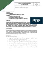 Manual de Manejo de Caja Chica