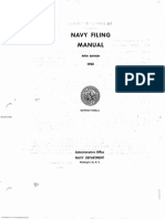 Navy Filing Manual 1950