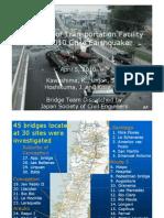 Damage Transportation Facility Due Chile Earthquake