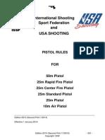 USAS Pistol 2014