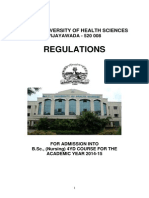BSC_Nursing 4yrs Prospectus 2014-15 (1)