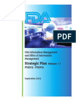 FDA Information Management Strategic Plan