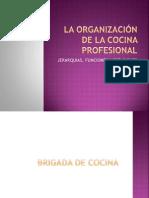 La Organización de La Cocina Profesional