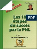 PNL Les 10 Etapes Du Succes