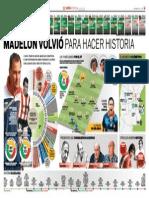 Madelón volvió para hacer historia