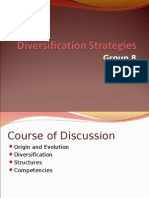 Diversification Strategies and Corporate Governance