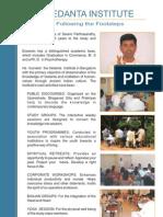 Dr Eswaran, Vedanta Institute