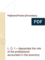 Professional Practice of Accountancy