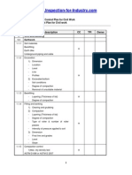 Contractor Quality Control Plan for Civil Work
