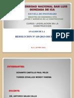 DIAPOSITIVAS DE LA RESOLUCION 119-2013-OSCE.pptx