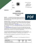 2014-11-18 Town Board Agenda