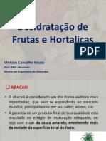 Desidratação de Frutas - procedimentos