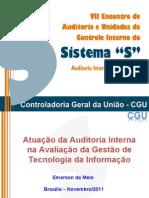 Atuação da Auditoria Interna na Avaliação da Gestão de TI