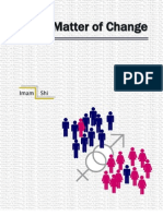 Statistics Project - A Matter of Change
