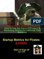 How to Be a Web 2.0 Metrics Jedi - Web 2.0 Expo (Apr 09)