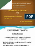 Estructura Del Proyecto Final Ingenieria de Transito