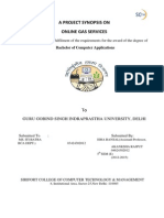 ONELINE GAS SERVICE REPORT