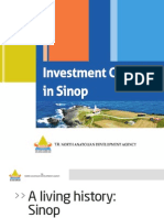 Investment Climate in Sinop
