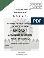Sistemas de Mantenimiento Productivo Total (MPT)