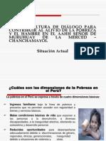 POBREZA EN EL AAHH SEÑOR DE MURUAY LA MERCED