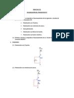 Polariación Del Transistor FET