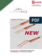 Pinzette bipolari per elettrochirurgia - Impugnatura ergonomico circolare