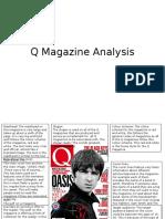 Magazine Analysis - Q