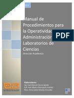 Manual Para La Operatividad de Laboratorios