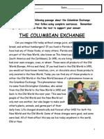 columbianexchangereadingcomprehension