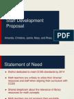 staff development proposal