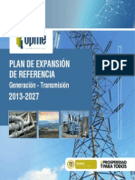 Resumen Plan Expansion Referencia 2013