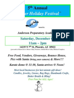 5th Annual Winter Holiday Festival