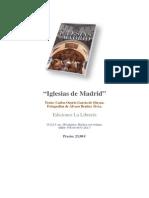 """Extracto libro """"Iglesias de Madrid"""", Carlos Osorio y Alvaro Benítez, Ed. La Librería"""