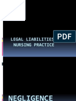 Legal Liabilitis in Nursing