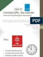 Investigación II (I) APA 6ta_2014