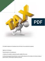 Taxation Management Assignment