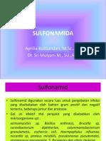 Materi 9. Gol Sulfonamida Lia. Ppt