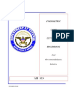 DOD Parametric Cost Estimating Handbook 2nd Ed