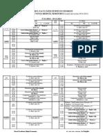 An I FR ROM 2014 sem I  17.11.14-29.10.14