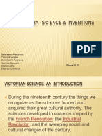 VICTORIAN Era - Science & Inventions