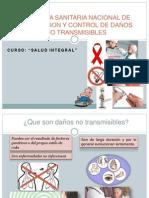 Salud Integral Tema Daños No Transmisibles